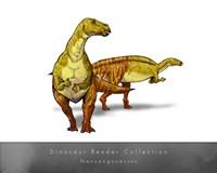 Nanyangosaurus Fine-Art Print