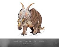 Achelousaurus Fine-Art Print