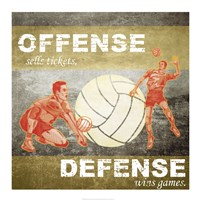 Offense, Defense Fine-Art Print