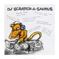 DJ Scratch-A-Saurus Fine-Art Print