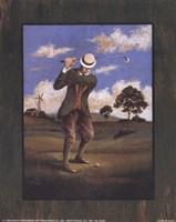 Victorian Golfer - Man Fine-Art Print