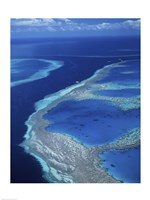 Hardy Reef, Great Barrier Reef, Whitsunday Island, Australia Fine-Art Print