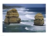 Sea stacks at the Port Campbell National Park, Victoria, Australia Fine-Art Print