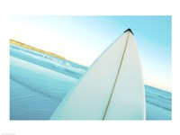 Close-up of a surfboard, Fishery Bay, Australia Fine-Art Print