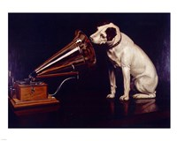 His Masters Voice Fine-Art Print