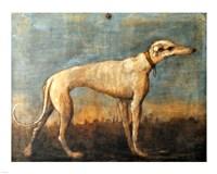 Greyhound, Giandomenico Tiepolo Fine-Art Print