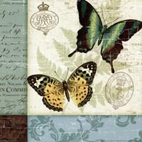 Butterfly Patchwork I Fine-Art Print