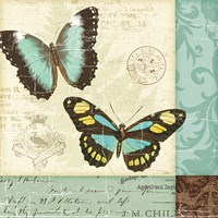 Butterfly Patchwork II Fine-Art Print