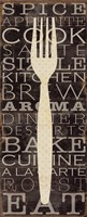 Kitchen Words I Fine-Art Print