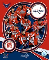 Washington Capitals 2011-12 Team Composite Fine-Art Print