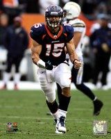 Tim Tebow 2011 in Action Fine-Art Print