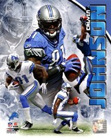 Calvin Johnson 2011 Portrait Plus Fine-Art Print