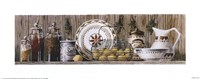 Assorted Jars and Plates Fine-Art Print