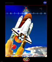 STS 123 Mission Poster Fine-Art Print