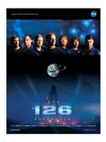 STS 126 Mission Poster Fine-Art Print