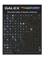 Ultraviolet Atlas of Nearby Galaxies Poster Fine-Art Print