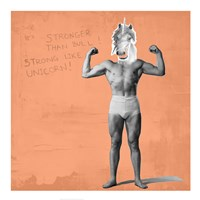 Muscle Man Unicorn Fine-Art Print