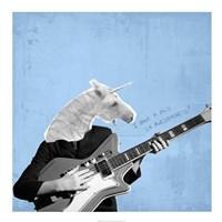 Awesome Unicorn Fine-Art Print