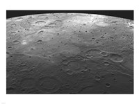 MESSENGER fly by view of mercury Fine-Art Print