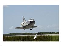 NASA Space Shuttle Atlantis Landing Fine-Art Print