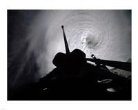 Orbiter Columbia Passes Over the Eye of Typhoon Owen Fine-Art Print