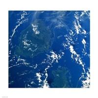 Reef Base as seen from space taken by Atlantis Fine-Art Print
