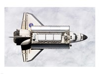 Shuttle Delivers ISS Module Fine-Art Print