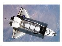 STS-112 Atlantis carrying S1 truss Fine-Art Print