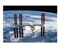 STS-126  ISS Flyaround Fine-Art Print