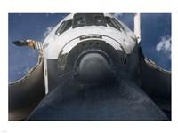 STS-129 Atlantis Rendezvous Pitch Maneuver Fine-Art Print