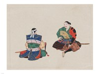 Seated Samurai Warriors Fine-Art Print