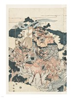 Samurai Battle I Fine-Art Print