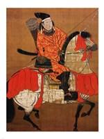 Ashikaga Yoshihisa Samurai Fine-Art Print