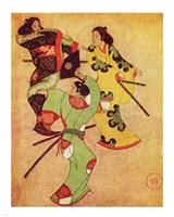 Iwasa Katsushige samurai Fine-Art Print