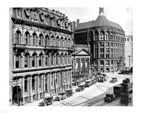 North side of Front Street 1930 Fine-Art Print