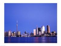 Buildings on the waterfront, Toronto, Ontario, Canada Fine-Art Print