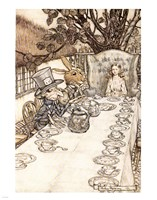 Alice in Wonderland A Mad Tea Party Fine-Art Print