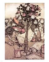 Alice in Wonderland, Turn them over Fine-Art Print