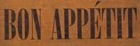 Bon Appetit IV Fine-Art Print