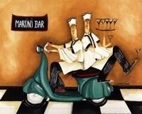 Martini Bar Fine-Art Print