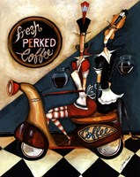 Fresh Perked Coffee Fine-Art Print