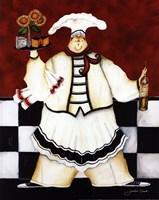 Crimson Chef I Fine-Art Print