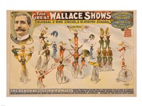The Colossal Three Ring Circus Fine-Art Print