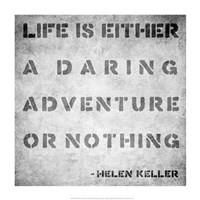Life Quote Fine-Art Print