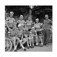 Dutch Team, Tour de France 1960 Fine-Art Print