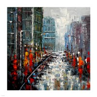 City Landscape Fine-Art Print