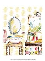 Girly Bath III Fine-Art Print