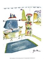 Girly Bathroom I Fine-Art Print