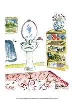 Girl Bathroom II Fine-Art Print