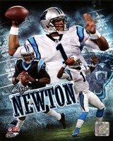 Cam Newton 2011 Portrait Plus Fine-Art Print